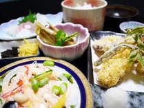 【2食付き】夕食もホテルで♪日替わり和定食&朝食★