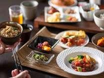 朝食提供イメージ♪35種類以上の品数で朝からお腹いっぱい(*´ω`*)♪