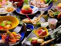 夏の『旬菜会席』の一例