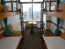 2段ベッド2台のお部屋