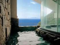 展望大浴場露天風呂 目の前に広がる伊勢湾と知多の島々をごゆるりとお楽しみ下さい。