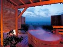 【本丸】客室露天風呂の一例