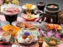 『花岬(はなみさき)御膳』新鮮な海の幸を主とした会席料理。四季折々のお料理をお楽しみ下さい。