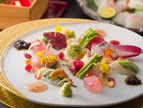 【ふらり限定】 料理長のこだわりが生み出す 彩り鮮やかな創作料理 ※料理は一例