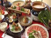 ○お肉やお魚を贅沢に食す○喜び膳コース