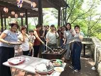 ●お盆期間限定!家族・仲間でわいわい夕食は野外BBQプラン●