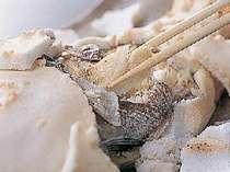大政名物「鯛の塩釜焼き」