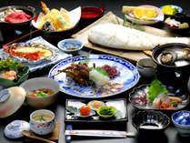 【夕食一例】伊勢海老ざんまいで豪快に!満腹プラン