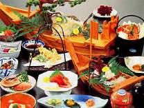 料理一例(伊勢太夫膳),三重県,安乗シーサイドホテル