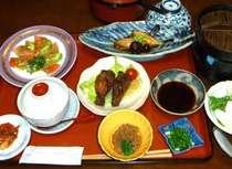 ある日の夕食です,秋田県,民宿えのぐ箱