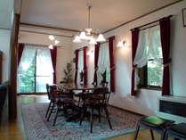 設備の整った大きな別荘をゆったりと楽しむ。