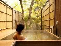 貸切露天風呂は3ヶ所。何度でも無料でご利用頂けます。湯上りの牛乳やアイスの無料サービスも大好評♪