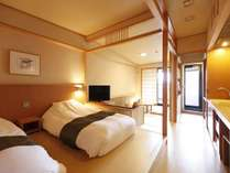 【禁煙】【露天風呂付き客室】和洋室35平米 水花の庄(新館)