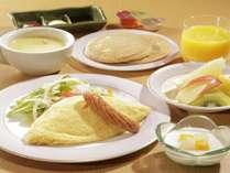 【お子様食/朝食】目覚めは、みんな大好きふわふわオムライスで1日元気★