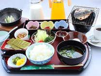 朝食の和定食(一例)