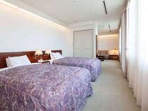 スイートルーム:ツインタイプ(36.5平米) ※ベッドルーム