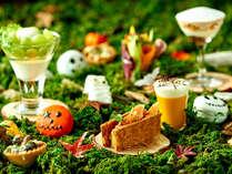 ハロウィンアフタヌーンティーは10/31まで平日20食限定(2日前までの要予約)