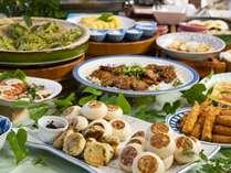 名物「おやき」等ご当地ならではのお料理もお楽しみください。