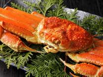 冬のグルメの風物詩!お一人様に蟹を丸ごと1杯お付けしちゃいます!