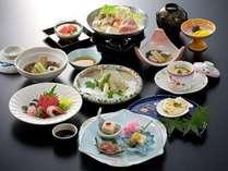 三河湾の海の幸を盛り込んだ旬の『和食会席』(一例)