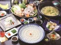 ◆【特選ふぐ祭り】ふぐを満喫、満腹フルコース!~松コース~【夕朝食付】