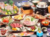 ◆【室数限定・お部屋食プラン】お得に♪美味しいものを食べよう♪山海の恵み会席~【夕朝食付】☆