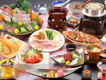 ◆【4/23~28限定・感謝週間特別プラン】お得に美味しいものを◇~季節の四季会席~【夕朝食付】