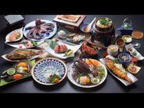 「伊勢海老・てっさ(地魚の薄造り)・知多牛」を贅沢に☆極み会席※お料理の内容は季節によって異なります