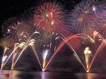 【期間限定】諏訪湖の花火を見に行こう!「夏の夜空に花が咲く」7月24日~8月31日(8/15を除く)