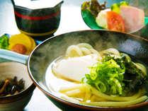 ■うどん-UDON-朝食■ダシの効いた一杯で一日の始まり★<さぬき倶楽部ならでは>