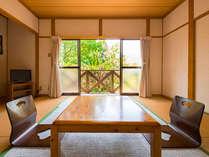 ◆【一棟貸しタイプ】和室8畳 2間の離れコテージ