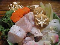【喜作おまかせ】ぷちクエ鍋&紀州地魚お造り
