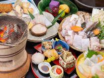 【活き〆天然クエコース】活き〆だから味わえる生肝、鍋、焼グエ、お造りなどフルコース