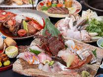【贅極み◇秋冬】伊勢えび造り&熊野牛ステーキ&クエ鍋!和歌山の美食を詰め込んだ贅沢会席!