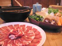 【ボタン鍋】日高川町の猪肉と、地元野菜をたっぷり