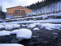 初春のトムラウシ温泉は一番静かな季節