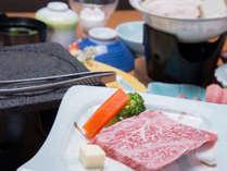 *【夕食一例】お好みの焼き加減でお召し上がりください。