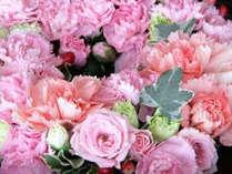 【 記念日プランB 】大切な人へお花を贈りたい!☆特典☆ボックスフラワー&ふかひれ姿煮付