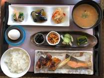 朝食セットメニュー(和食)一例