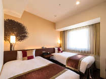◆カジュアルツインルーム◆14平米※机、椅子がないタイプのツインルームです。