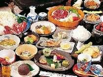旬の食材をふんだんに…おなかをすかせて出かけよう/一例,熊本県,やすらぎの宿 宿房 あそ