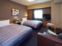 【Grand Annexツインルーム】ベッド⇒110×195cm エアウィーブマットレス設置 WOWOW視聴可能