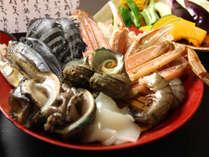 地元で獲れた鮮度抜群の魚介類です!澄に焼にて豪快にお召し上がりくださいね♪