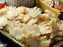 蟹かぶ山盛り♪かにすき 焼ガニお好きな食べ方で