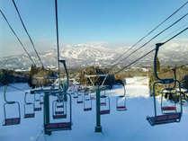 【奥美濃ビッグゲレンデリフト付き】スキー&雪見露天で冬を満喫◆焼きしゃぶしゃぶ食べ放題◆