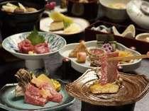 こだわりの食材『山形牛』の陶板焼き膳 ※イメージ