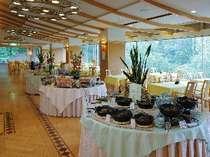 朝食バイキング会場のイメージ