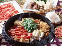 こだわりの食材『山形牛』すき焼き膳 ※イメージ