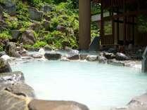 ■露天風呂/八右衛門の湯。八右衛門の湯。開放感の溢れる露天風呂