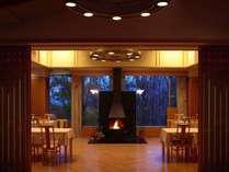 ■ダイニングルーム『山の謌』/ご夕食会場の一例
